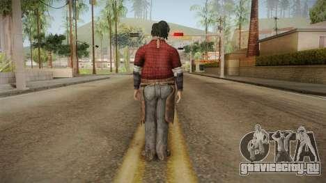 Leatherface Butcher для GTA San Andreas третий скриншот