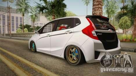 Honda Jazz GK FIT RS v2 для GTA San Andreas вид слева