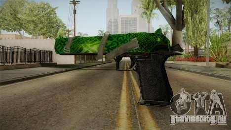 Green Desert Eagle для GTA San Andreas второй скриншот