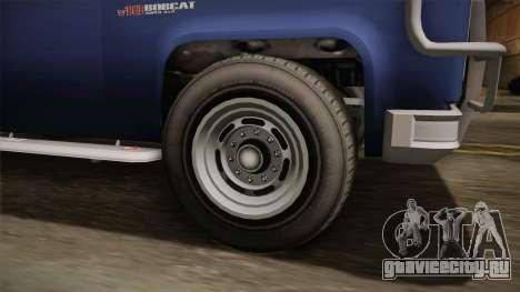 GTA 5 Vapid Bobcat S IVF для GTA San Andreas вид сзади