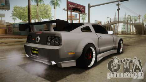 Ford Mustang Rocket JDM для GTA San Andreas вид слева