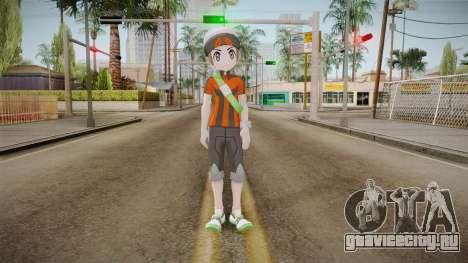 Pokémon ORAS - Brendan для GTA San Andreas второй скриншот