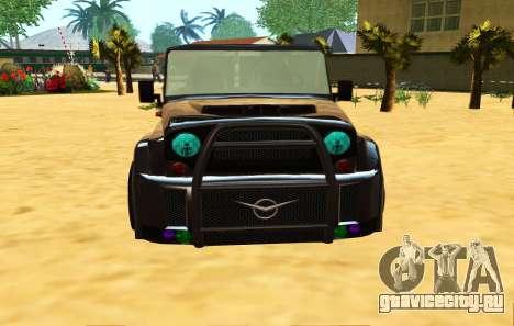 Новый цвет фар для GTA San Andreas второй скриншот