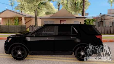 Ford Explorer FBI для GTA San Andreas вид слева