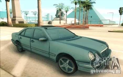 Mercedes-Benz W210 E55 для GTA San Andreas