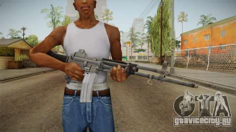 Daewoo K-2 Assault Rifle для GTA San Andreas третий скриншот