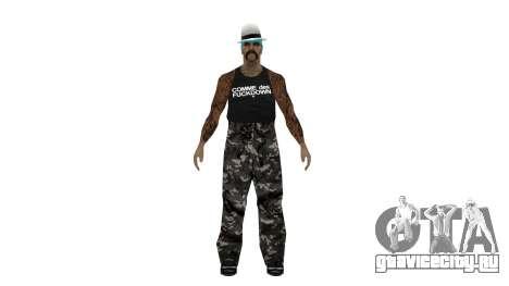 Полный пак скинов Гетто для GTA San Andreas пятый скриншот