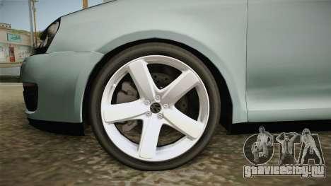 Volkswagen Jetta 2007 для GTA San Andreas вид сзади