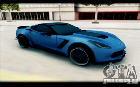 Chevrolet Corvette Stingray для GTA San Andreas
