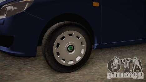 Škoda Roomster для GTA San Andreas вид сзади