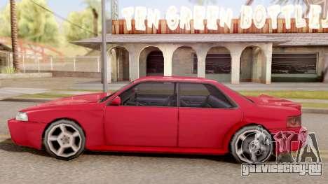 Sultan Widebody для GTA San Andreas вид слева