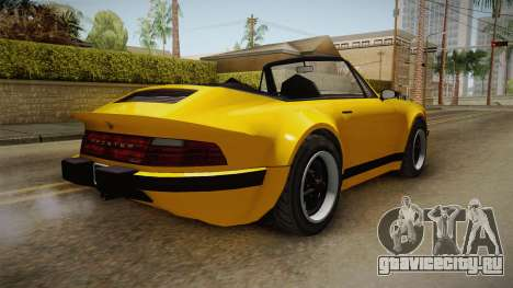GTA 5 Pfister Comet Retro Cabrio для GTA San Andreas вид слева