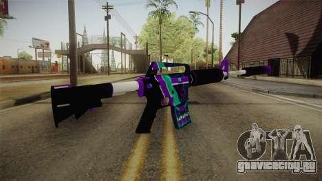 CS:GO - M4A1-S Lince для GTA San Andreas третий скриншот