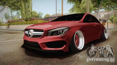 Mercedes-Benz CLA 45 AMG WideBody 2014 для GTA San Andreas вид справа