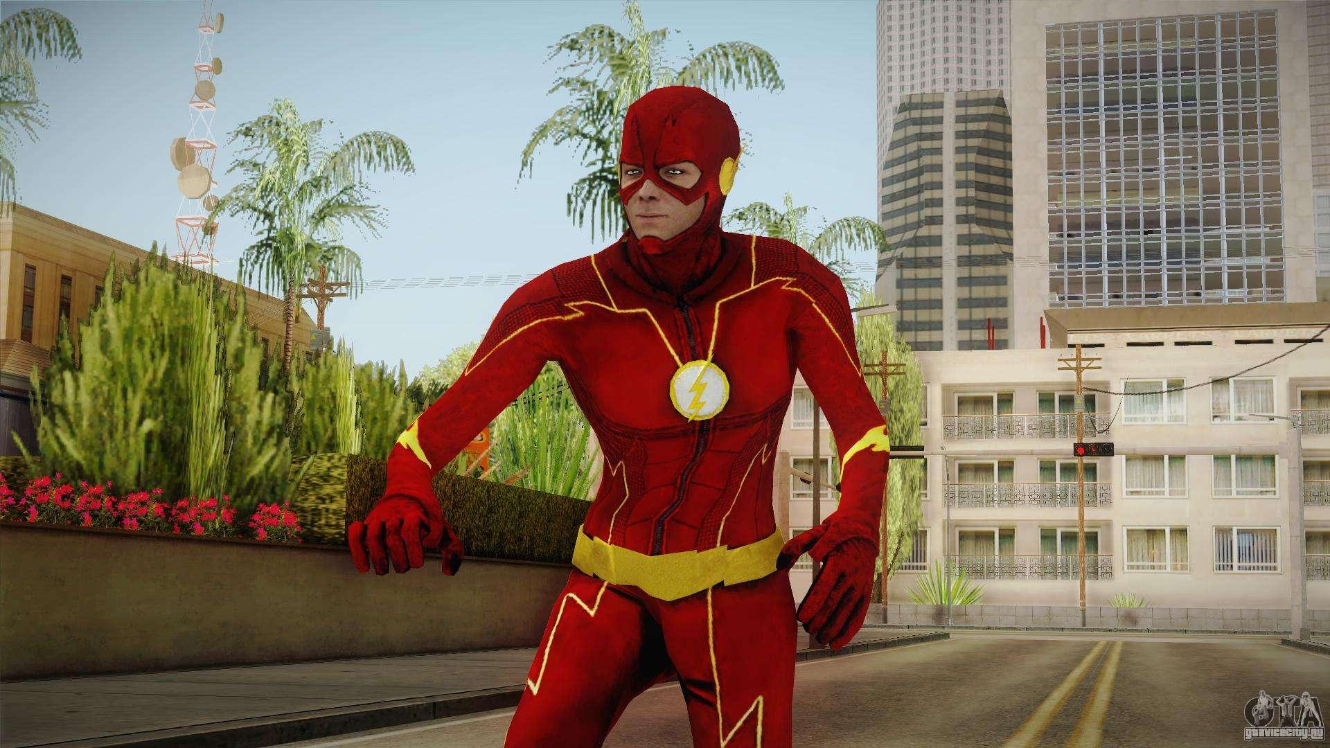 скачать the flash мод для гта сан андреас