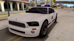 Bravado Buffalo Hometown PD 2009 для GTA San Andreas