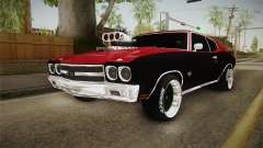 Chevrolet Chevelle SS 1970 Drag Racing Tuned