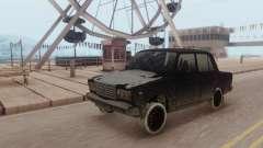 ВАЗ 2107 ЗИМА для GTA San Andreas