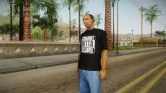 Straight Outta LS T-Shirt для GTA San Andreas