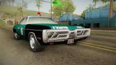 Plymouth Fury I NYPD для GTA San Andreas