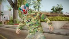 Skin GTA Online Clown Camouflaged