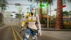 Borderlands 2 - Skimpier Maya The Siren для GTA San Andreas