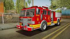 GTA 5 Firetruck Malaysia для GTA San Andreas