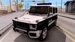 Mercedes-Benz G65 AMG BIH Police Car для GTA San Andreas
