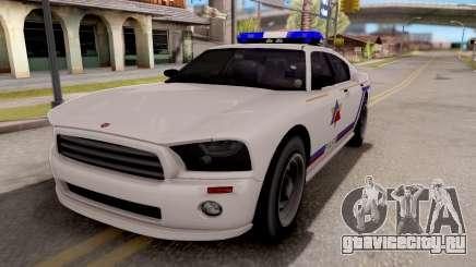 Bravado Buffalo Hometown PD 2009 для GTA San Andreas