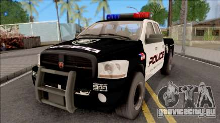 Dodge Ram High Speed Police для GTA San Andreas