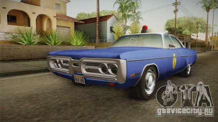 Plymouth Fury 1969 Kansas State Police для GTA San Andreas