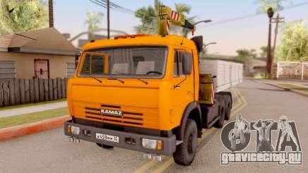 КамАЗ 54115 Бортовой Погрузчик для GTA San Andreas