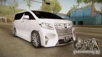 Toyota Alphard 3.5G 2015 v2 для GTA San Andreas