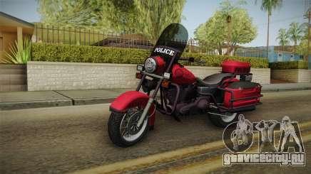 GTA 5 Police Bike для GTA San Andreas