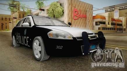 Chevrolet Impala 2009 LSPD для GTA San Andreas