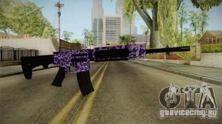 Tiger Violet M4 для GTA San Andreas