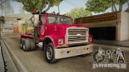 GTA 5 Vapid Towtruck Large Worn для GTA San Andreas
