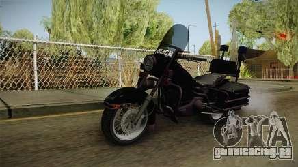 GTA 4 Police Bike для GTA San Andreas