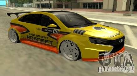 Lada Vesta WTCC для GTA San Andreas