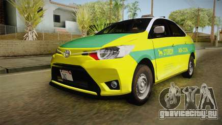 Toyota Vios Sturdy Philippine Taxi 2014 для GTA San Andreas