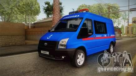 Ford Transit Turkish Gendarmerie для GTA San Andreas