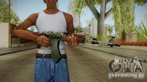 CF AK-47 v2 для GTA San Andreas