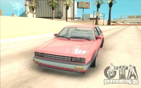 Volkswagen Jetta MK2 для GTA San Andreas вид сзади