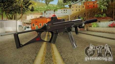MP5 Grey Chrome для GTA San Andreas второй скриншот