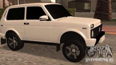 ВАЗ 2121 для GTA San Andreas вид слева