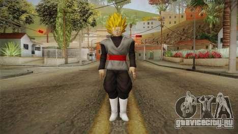 DBX2 - Goku Black SSJ2 v2 для GTA San Andreas второй скриншот