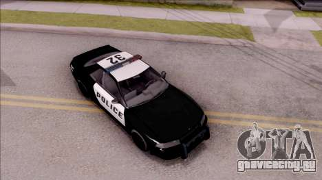 GTA V Annis Elegy Retro Interceptor для GTA San Andreas вид справа