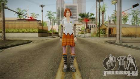 Zoe Taylor from Bully Scholarship v2 для GTA San Andreas второй скриншот