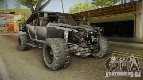 Ghost Recon Wildlands - Unidad AMV No Minigun v1 для GTA San Andreas
