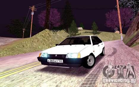 ВАЗ 2109 Белоснежка для GTA San Andreas